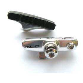 XLC Cartridge BR-R02 Road Bremsschuhe 4er Set 55mm für Carbon silber/blau